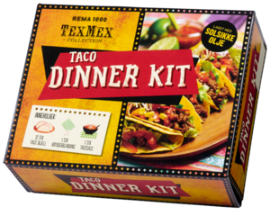 4070033 Taco dinner kit Rema Brands